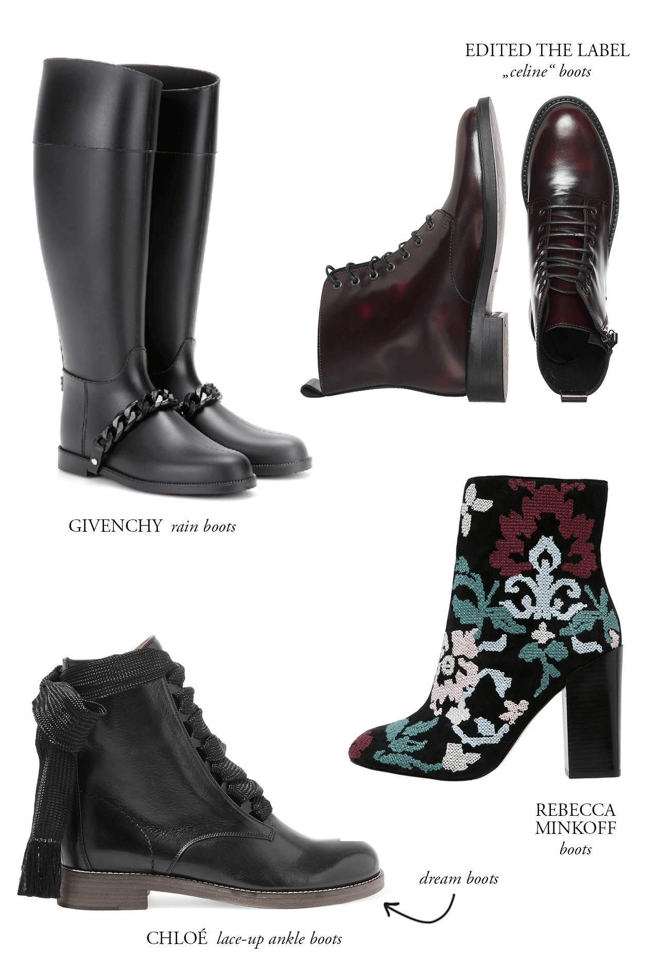 CRAVINGS: dream boots.
