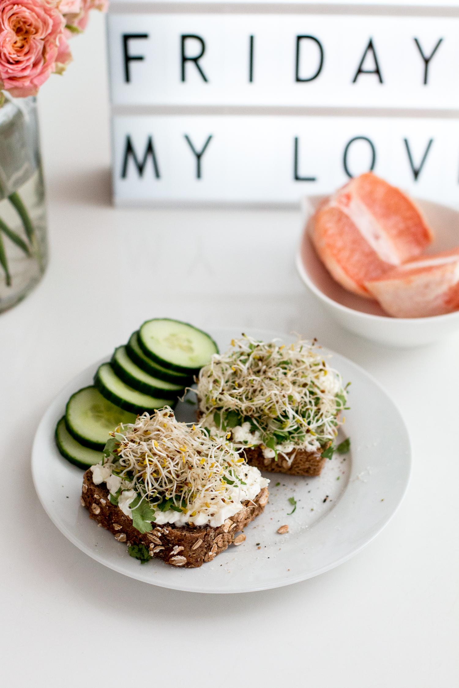 7 days, 7 meals: breakfast diary