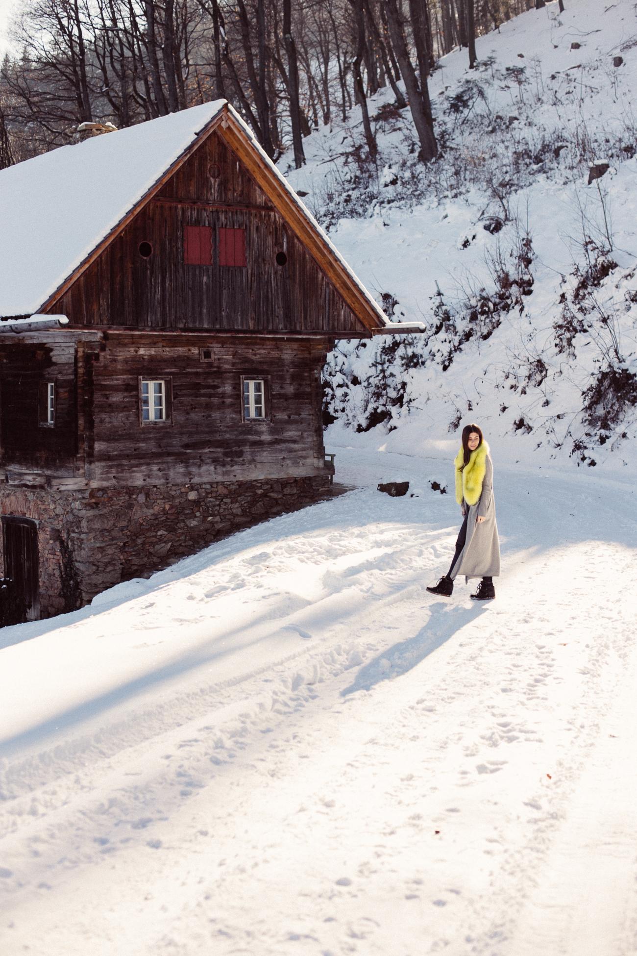snowy weekend getaway