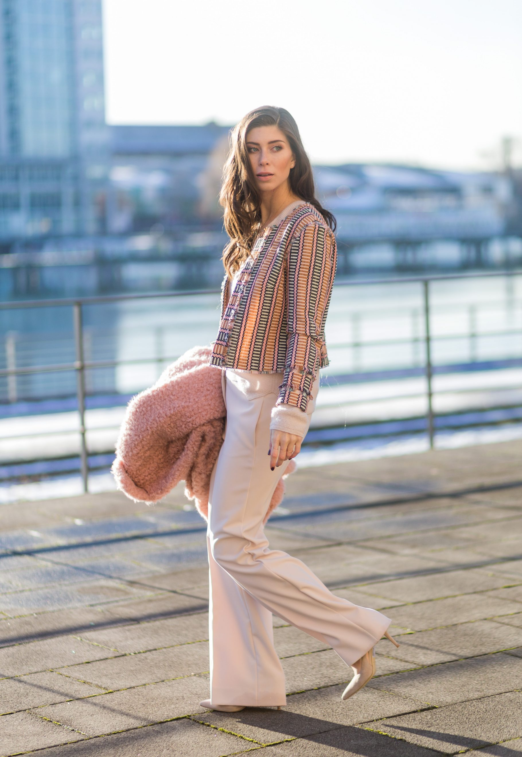 OUTFIT: ballerina pink.
