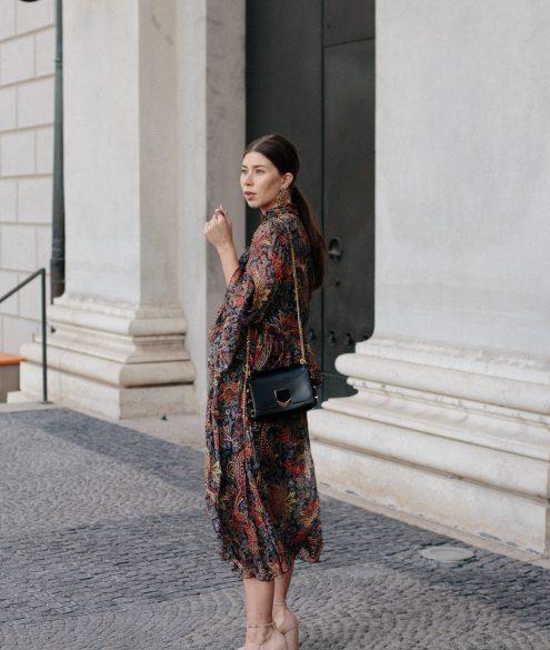Zara Boho Dress + Jimmy Choo petite lockett bag |Wempe Maximilianstrasse 6 München, Grand Opening - Bikinis & Passports