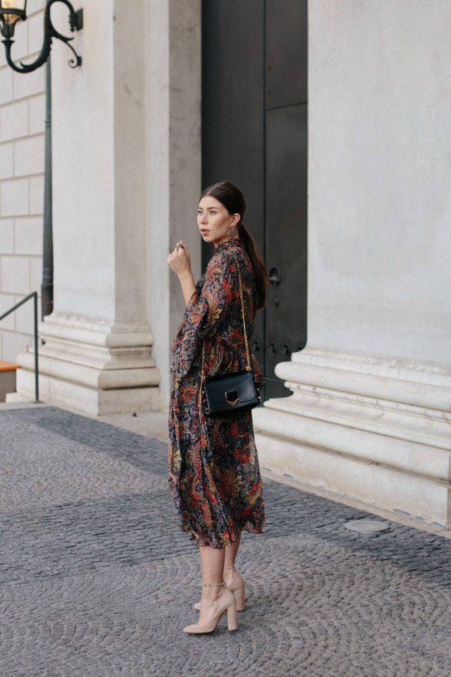 Zara Boho Dress + Jimmy Choo petite lockett bag |Wempe Maximilianstrasse 6 München, Grand Opening - Bikinis & Passports