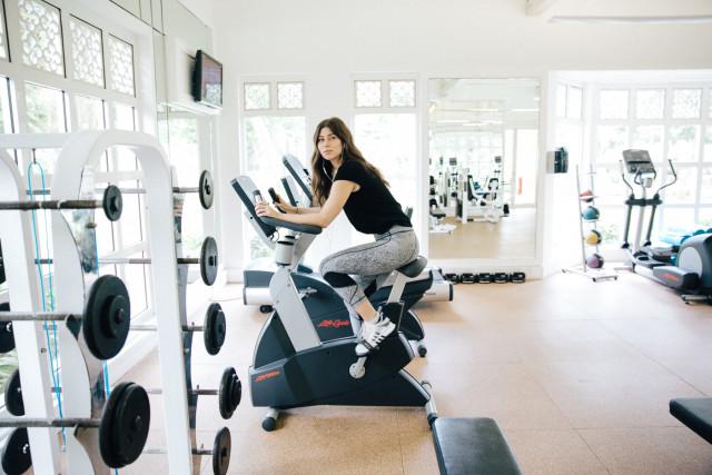 Fitness Center at Heritage Le Telfair | Bikinis & Passports