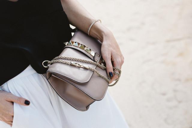 Valentino Medium Lock Bag - p45