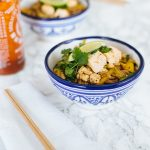 RECIPE: asian noodles with tofu (vegan)