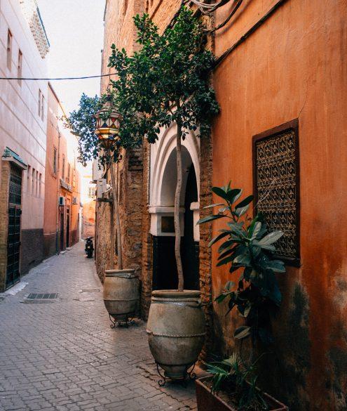 El-Fenn Marrakech, Rooftop, Sunset Drinks & Dinner | Bikinis & Passports