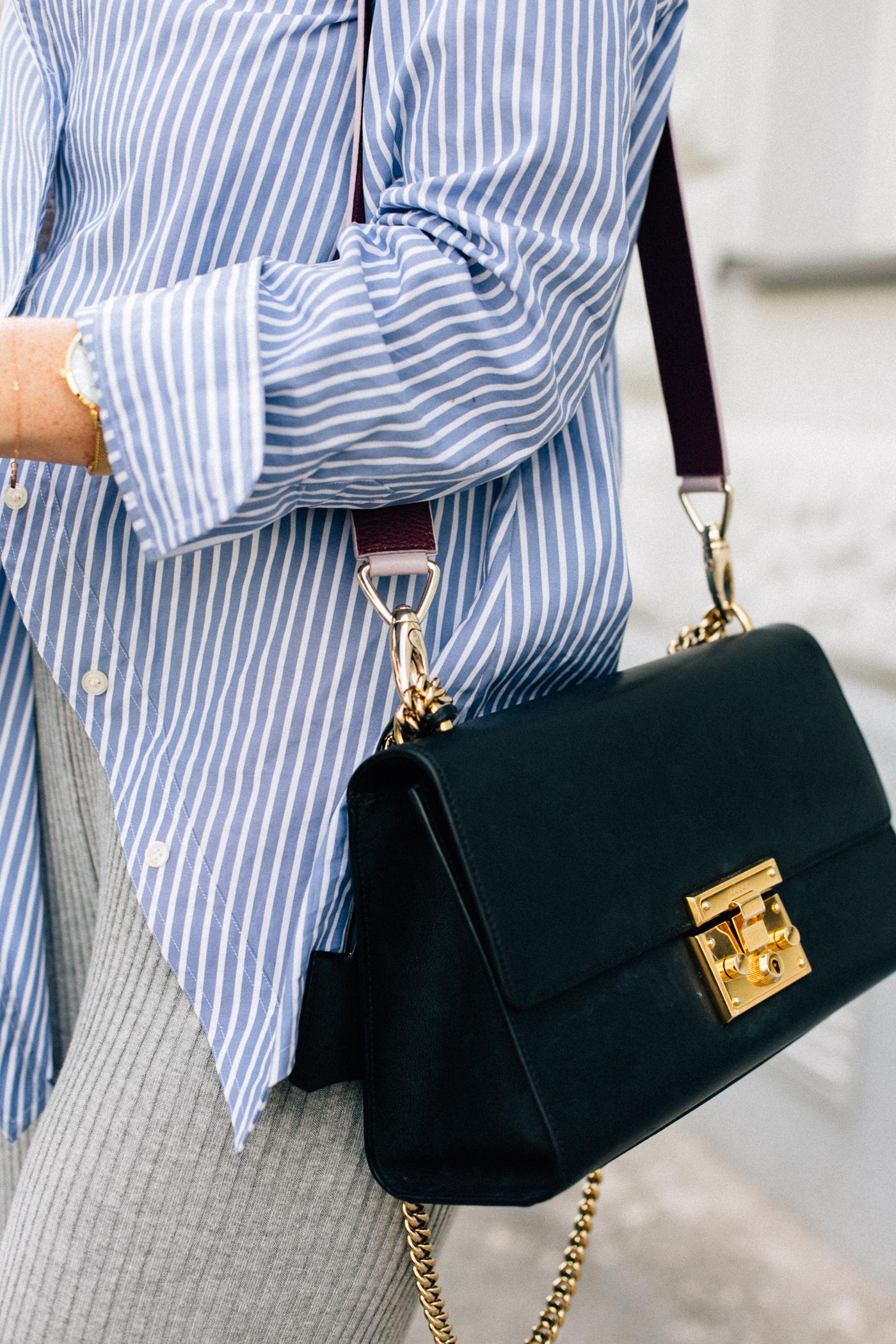 Gucci Padlock bag + Aigner strap | Bikinis & Passports