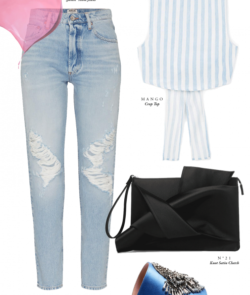 Spring Outfit Inspiration Baby Blue - Bikinis & Passports