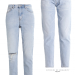 denim must-have: tapered & bleached.