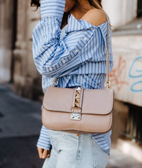 One-Shoulder Stripe Blouse EDITED Wien | Bikinis & Passports