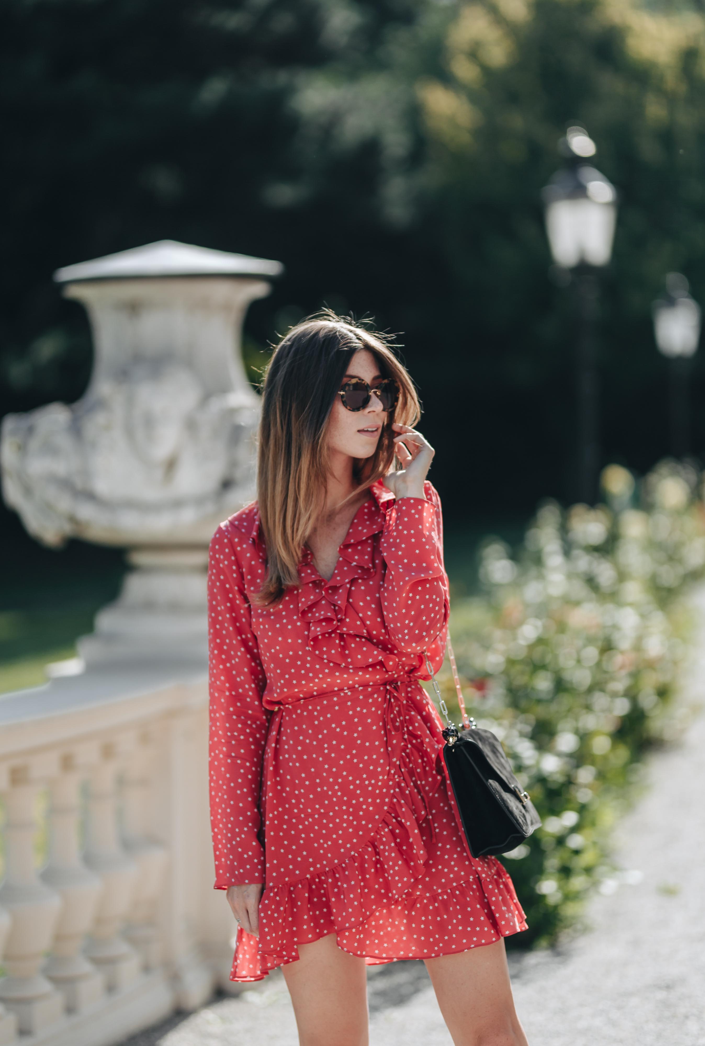Realisation Par wrap dress, Red Star Alexandra | Bikinis & Passports