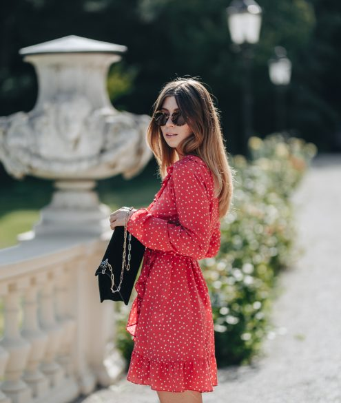 Realisation Par wrap dress, Red Star Alexandra | Bikinis & Passports
