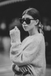 Zara Oversize Knit Sweater Fall 2017 - Bikinis & Passports