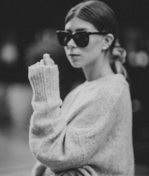 Zara Oversize Knit Sweater Fall 2017 - Bikinis & Passports
