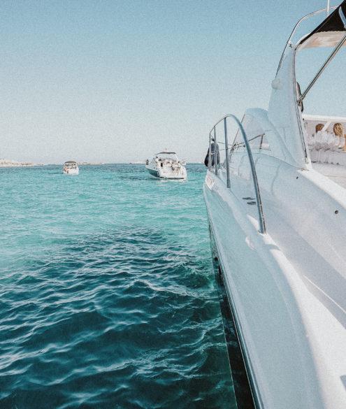 Cotton Boats, Ibiza Boat Rental | Bikinis & Passports