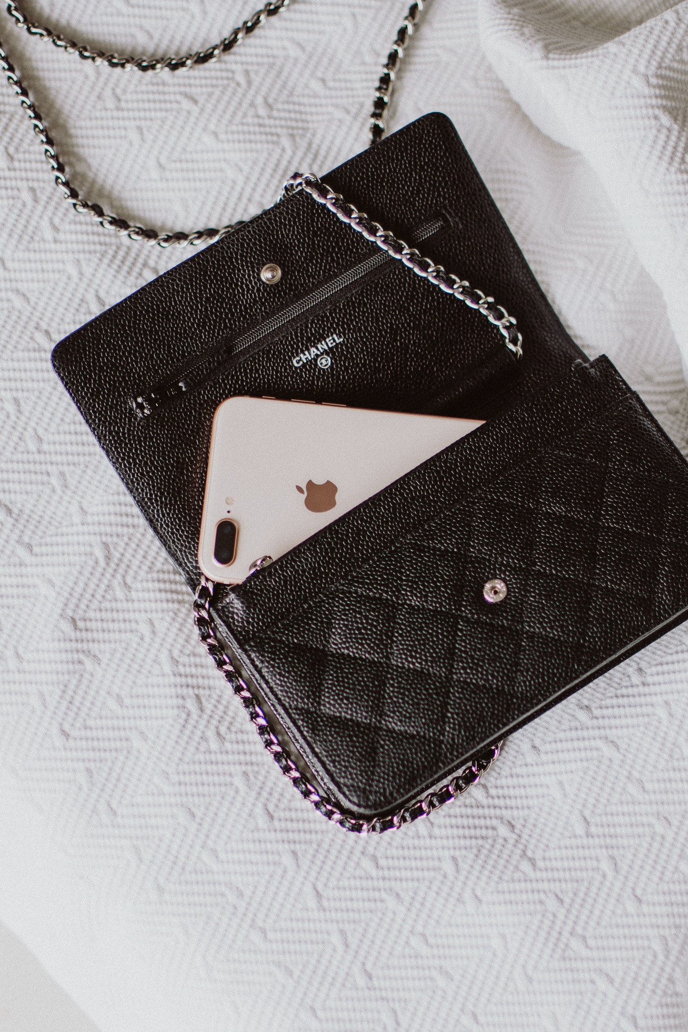 Chanel Wallet on Chain Review: What's in my bag   Bikinis & Passports