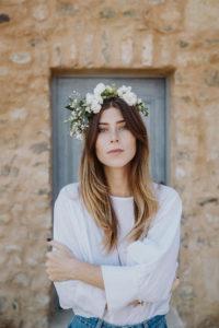 d.i.y. flower crown   Bikinis & Passports