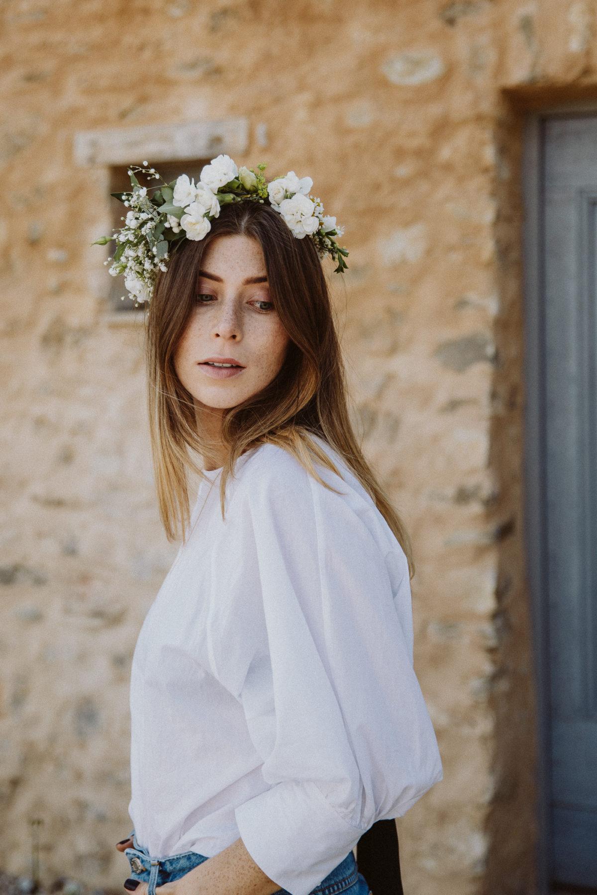 d.i.y. flower crown | Bikinis & Passports