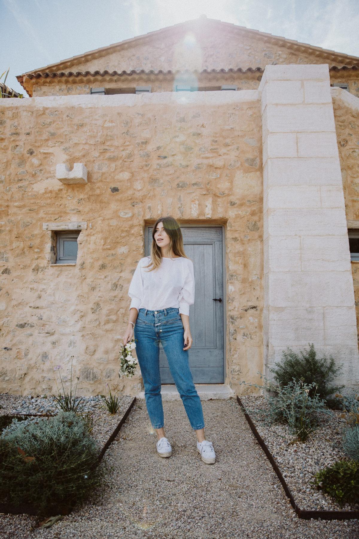 Closed pedal pusher jeans | Bikinis & Passports