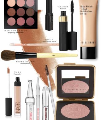 My Daily Beauty Routine - What's In my Make-Up Bag | Bikinis & Passports