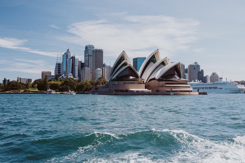 Touchdown in Sydney