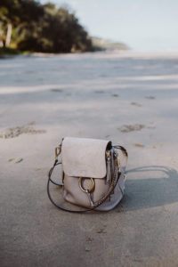 Chloé Faye backpack small, motty gray | Bikinis & Passports