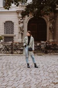 Lala Berlin Joon Coat in Jade (Mint) | Bikinis & Passports
