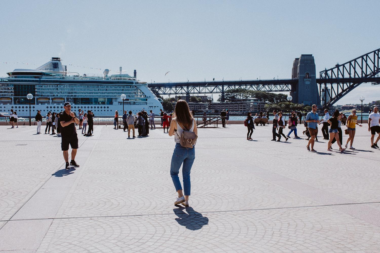 Sydney Harbor Bridge, Australia Travel Diary | Bikinis & Passports