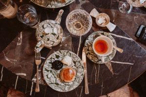 London Travel Diary: Afternoon Tea The Ned | Bikinis & Passports