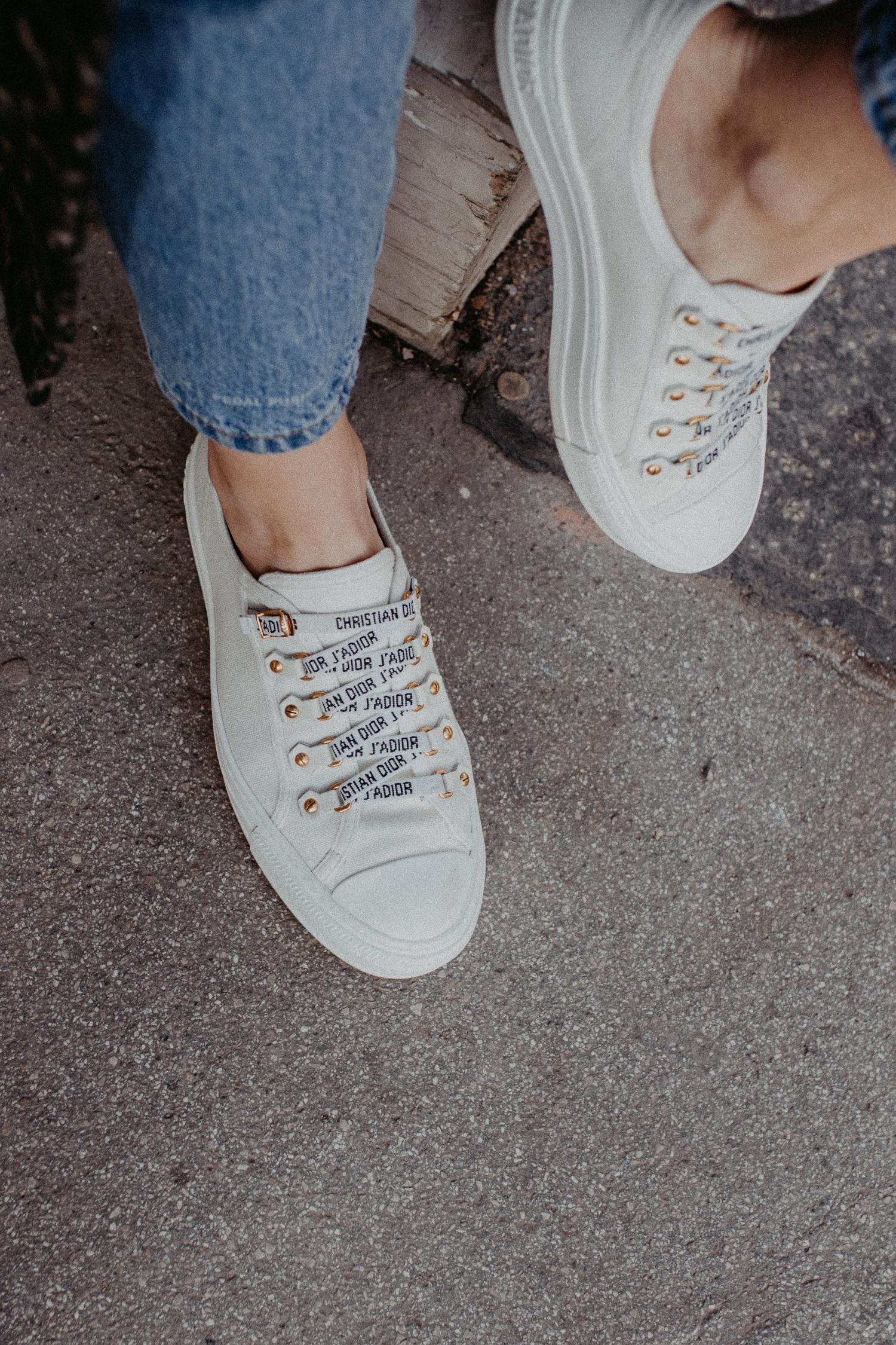 Walk'n'Dior low-top sneakers