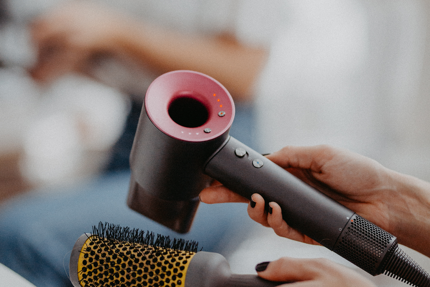 10-Minute Salon Blowout At Home, Dyson Supersonic Hair Dryer Review | Bikinis & Passports