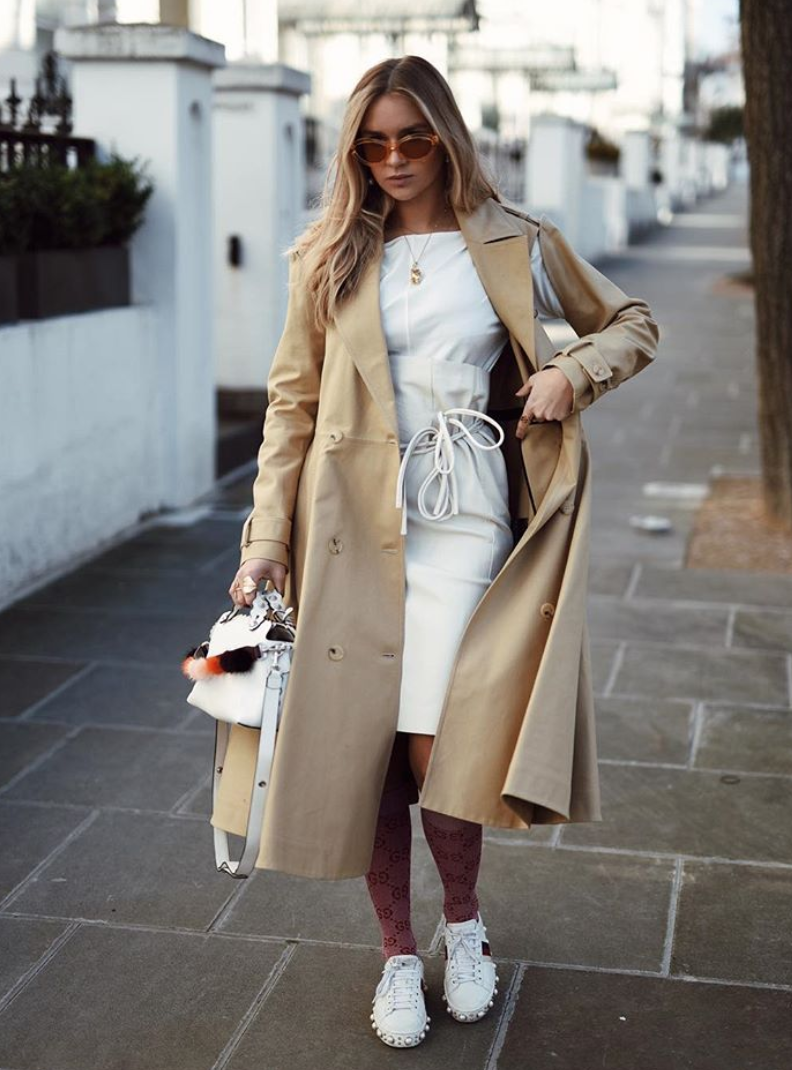 How to style a trench coat | Bikinis & Passports