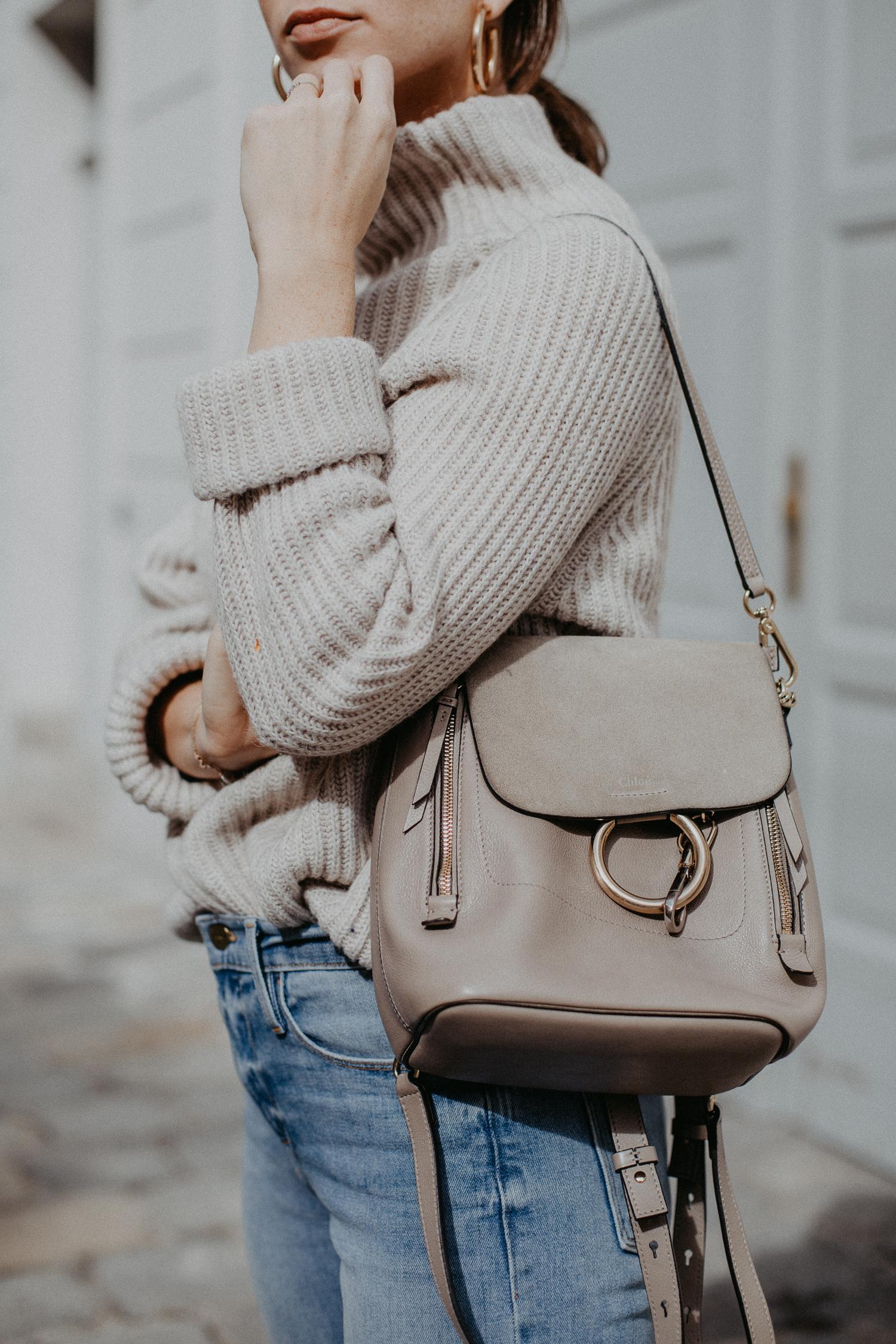 Chloé Faye small backpack   Bikinis & Passports