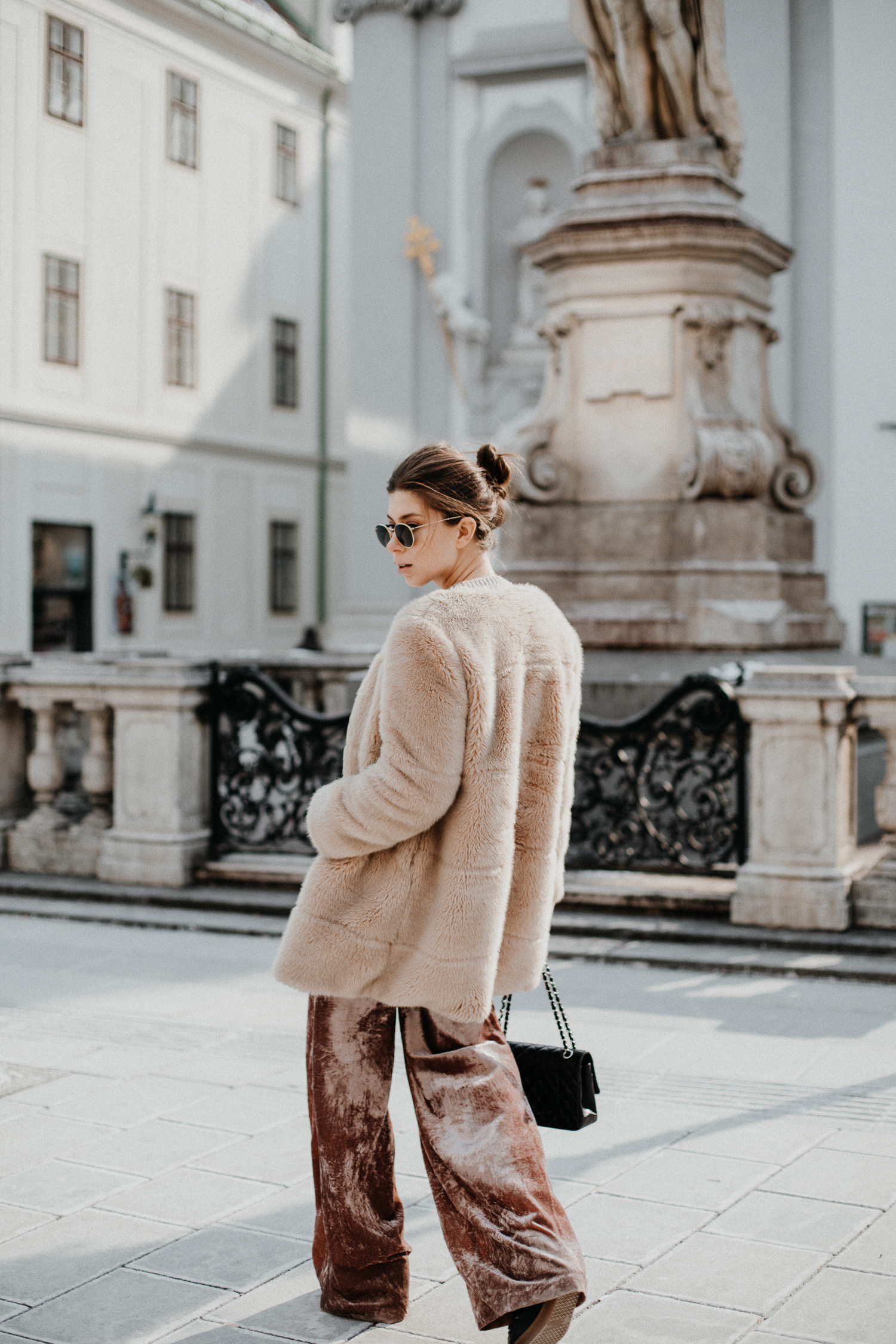 pink velvet pants | Bikinis & Passports