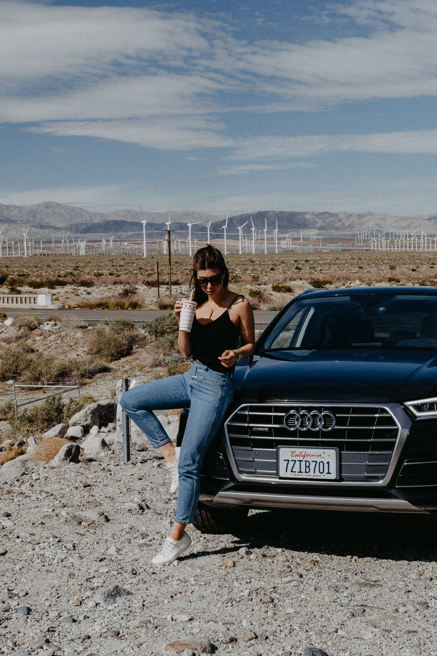 L.A. to Palm Springs Roadtrip: Audi Q5 | Bikinis & Passports