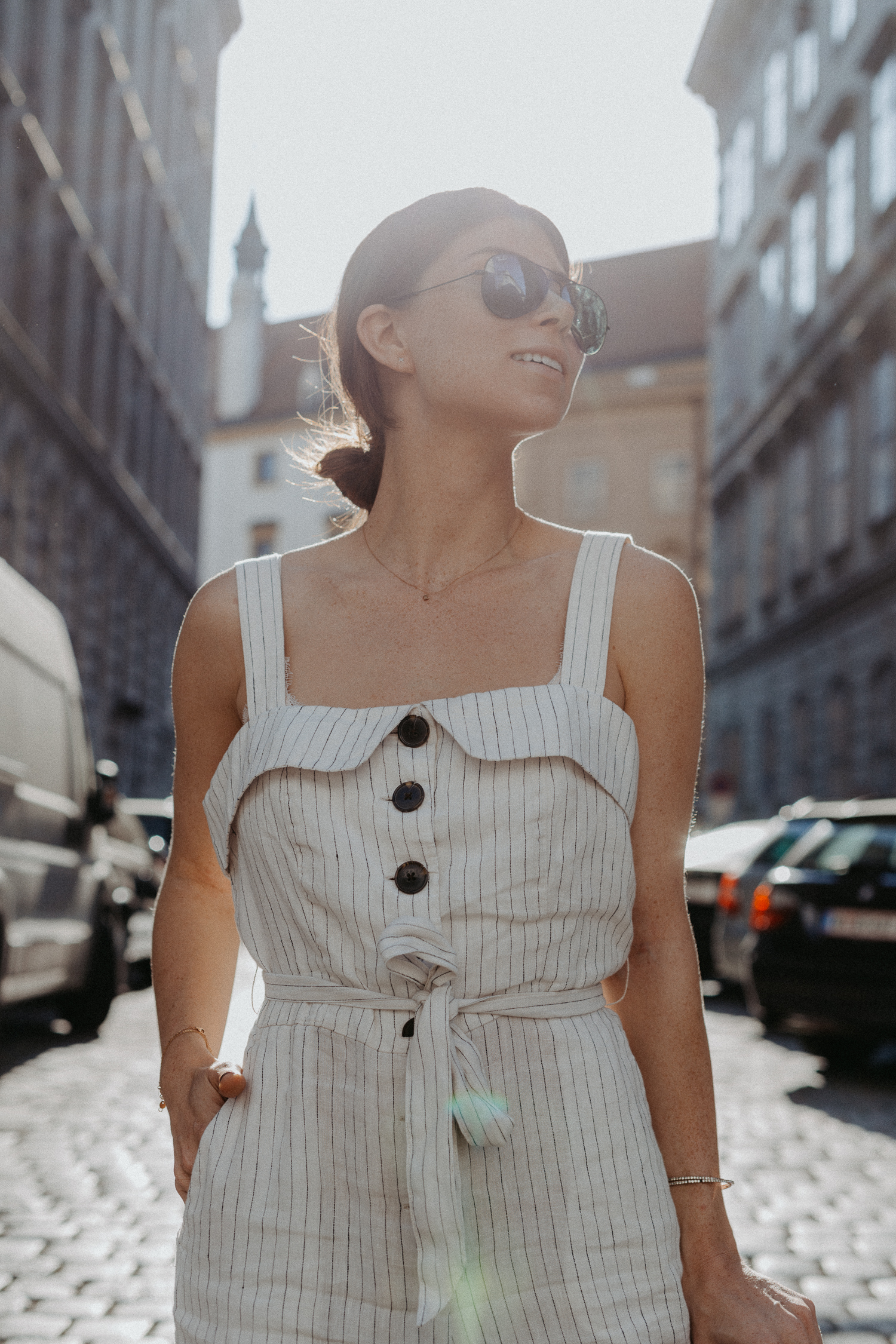 Summer Must-Have: Mango Linen Jumpsuit | Bikinis & Passports