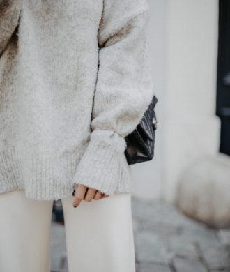 how to wear gray with beige   Bikinis & Passports