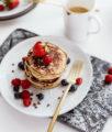 Gluten-Free Cococnut Banana Pancakes Recipe | Bikinis & Passports