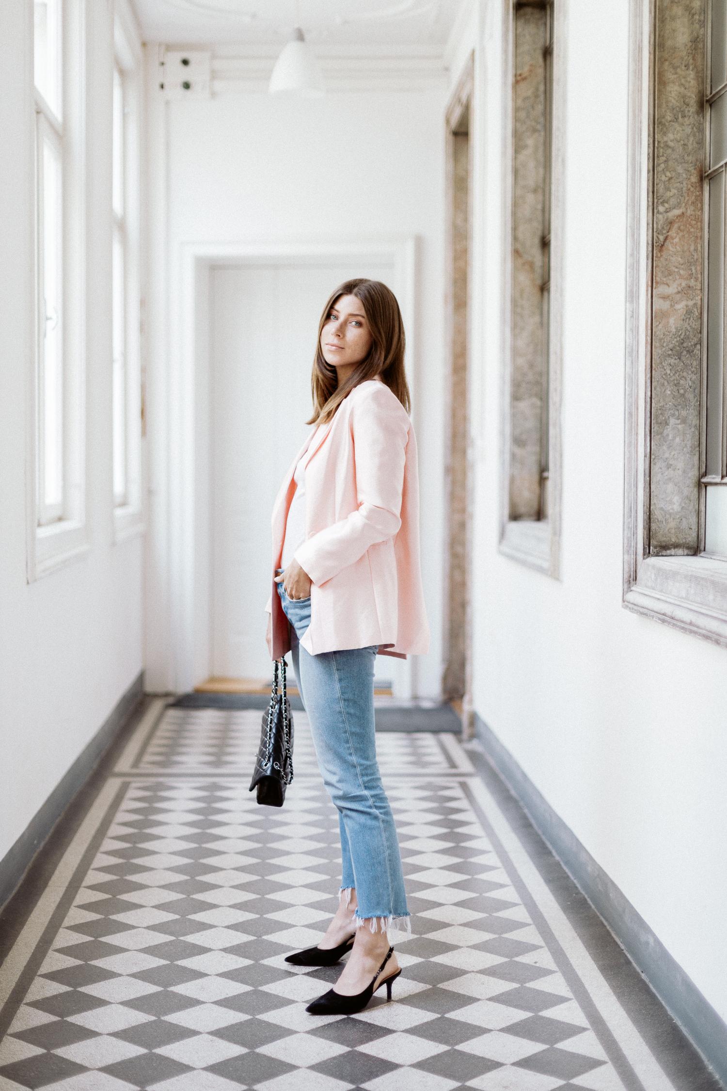 Spring Must-Have: Pastel Pink Blazer | Bikinis & Passports