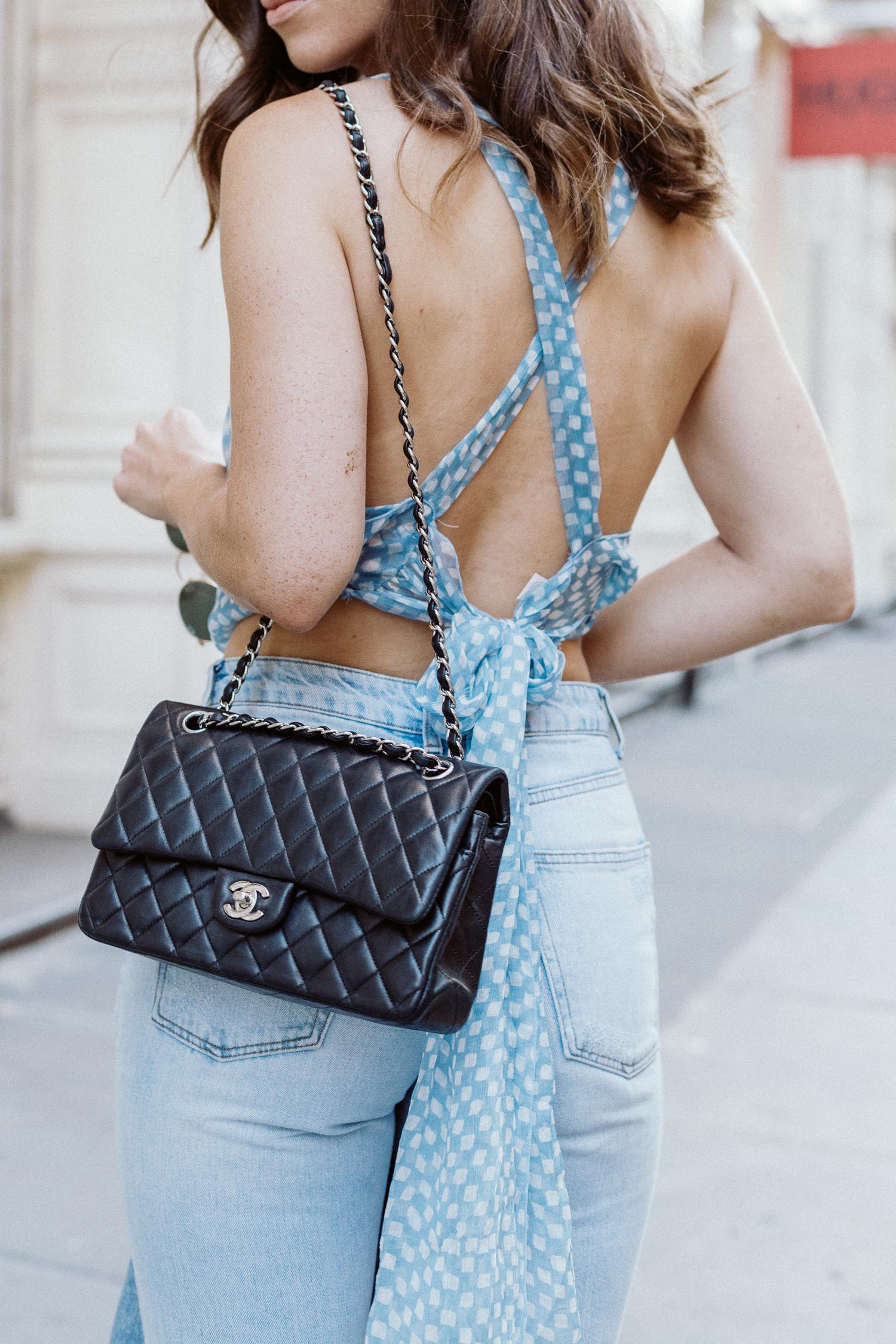 Cloe Cassandro top | Bikinis & Passports