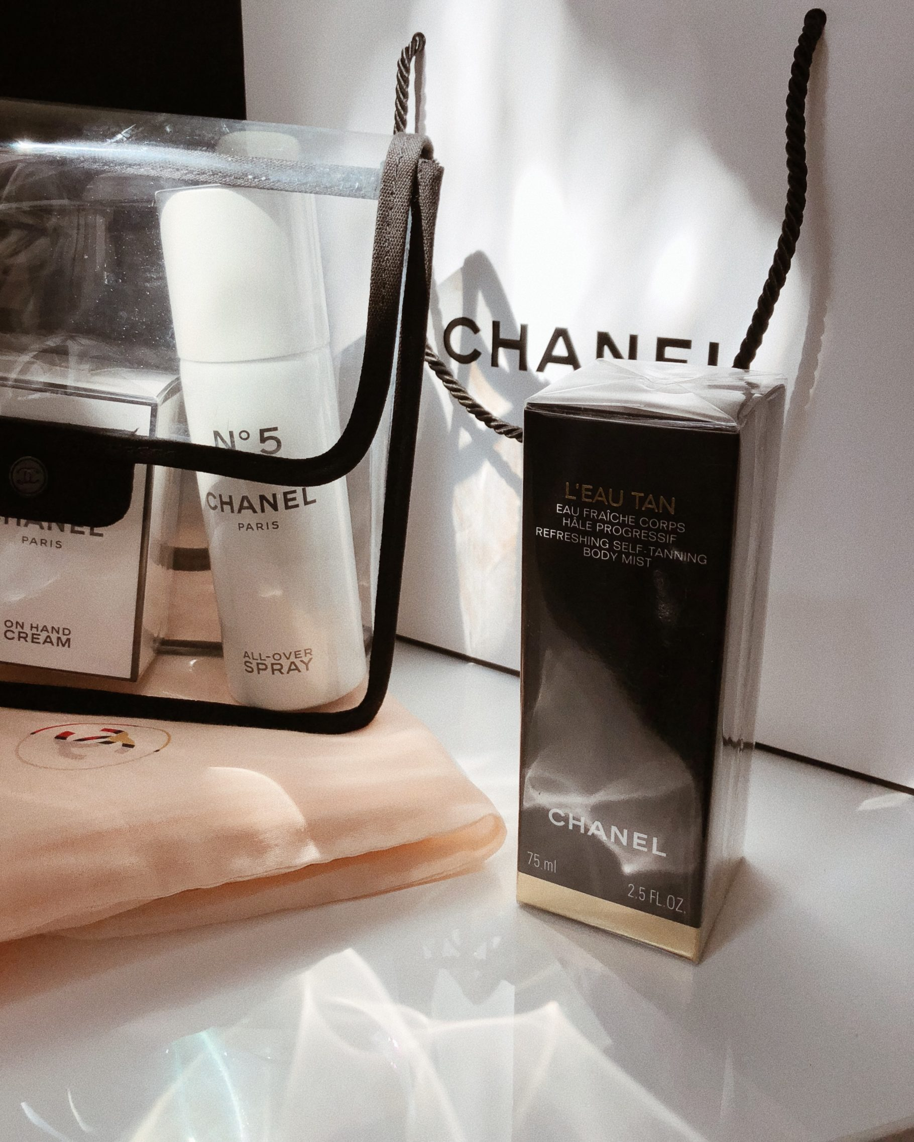 Chanel L'Eau Tan, Summer Essential | Bikinis & Passports