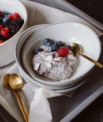 Coconut Chia Pudding Recipe (dairy-free, vegan) | Bikinis & Passports