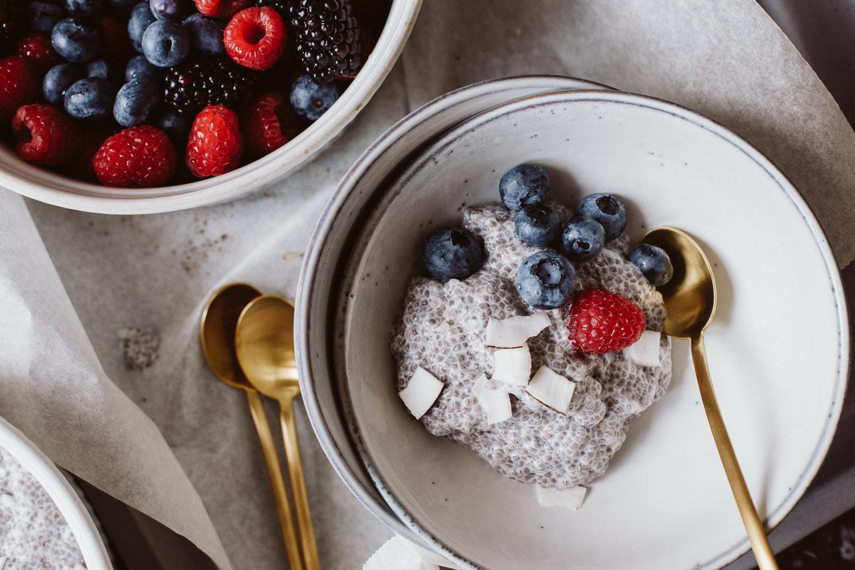 Coconut Chia Pudding Recipe (dairy-free, vegan)   Bikinis & Passports