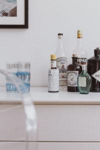 Dining Room Sideboard, White Scandi Style | Bikinis & Passports