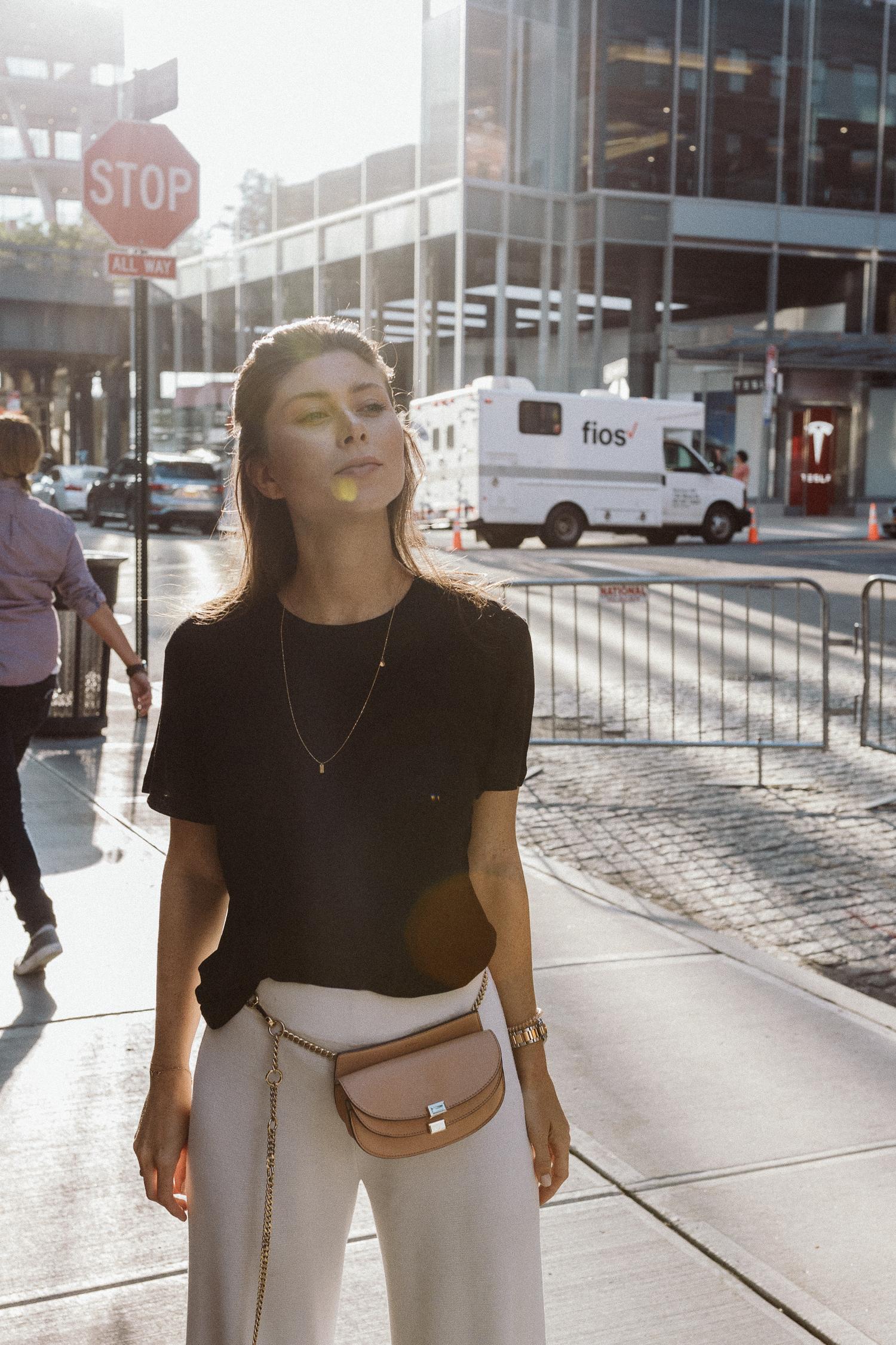 New York City travel outfit | Bikinis & Passports