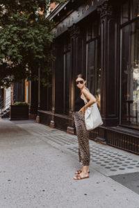 GANNI leopard skirt - Bikinis & Passports