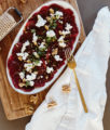 Beetroot Carpaccio with Goat Cheese Recipe - Bikinis & Passports