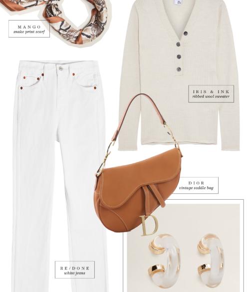 How To Style Winter Whites This January - Bikinis & Passports