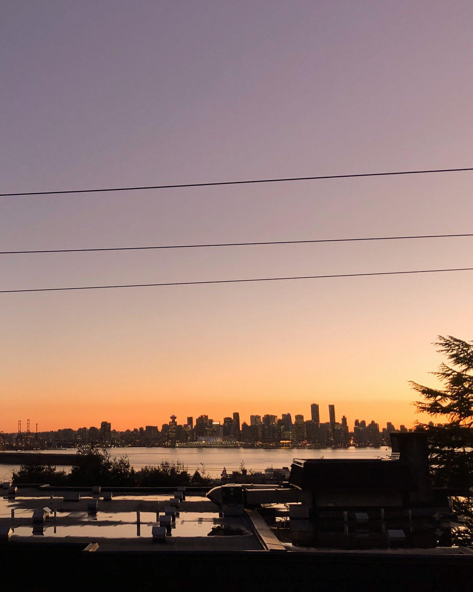 Pier 7 North Vancouver Sunset - Bikinis & Passports