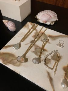 Seashell Accessories on Sale - Bikinis & Passports